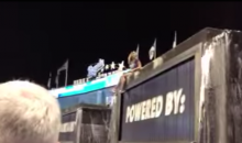 Royals Fan Celebrates Victory with Gross Leap into Kauffman Stadium Fountain (Video)