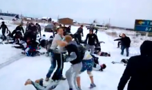 Russian Highway Football Brawl is as Crazy as it Sounds (Video)