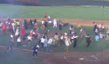 SDSU Halloween Baseball Game Gets Hit by a 'Thriller' Flash Mob (Video)