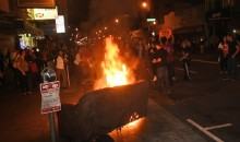 San Francisco World Series Celebration Features Shootings, Stabbings, Fires, Riot Cops—All that Good Stuff  (Video + Pics)