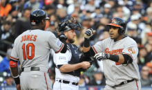 Tigers Fan Catches Nelson Cruz's Series-Clinching HR, Rolls It Back on Field (GIF)