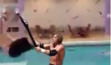 Triple H One-Ups Randy Orton, Give Diver the Chair in Vine Clip (Video)