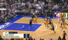 German Basketball Team ALBA Berlin Beats San Antonio Spurs with Buzzer Beater (Video)