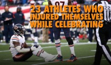 23 Athletes Who Injured Themselves While Celebrating