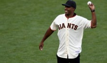 Barry Bonds First Pitch Reminds Baseball Fans to Hate the Giants (Video)