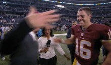 Colt McCoy Celebration Fails Highlight Washington's OT Upset Over Dallas (GIFs)