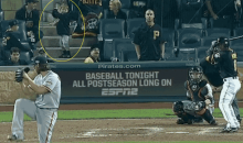 Cute Pirates Kid Behind Home Plate Had Bumgarner's Curve Ball Timed Perfectly (GIF)