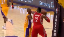 Kobe Took a Dwight Howard Elbow to the Face Last Night, and He Didn't Appreciate It (Video)