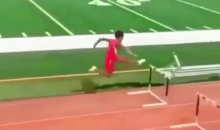 You Will Probably Watch this Epic Hurdles Fail Over and Over for the Next 10 Minutes