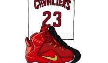 Here's an Illustrated Look at the Signature Sneakers of the 2014-15 NBA Season (Gallery)