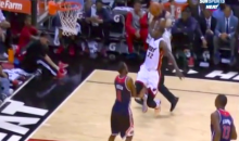 Who Needs LeBron? Here Is Miami's James Ennis Posterizing Rasual Butler (Video)