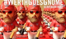 Washington Nationals Scavenger Hunt Sends Fans Looking All Over D.C. for Jayson Werth Gnomes (Pics)