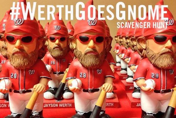 jayson werth gnomes werthgoesgnome washington nationals