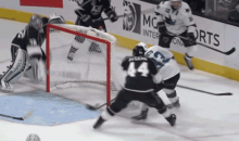 Jonathan Quick Puck Handling Fail Pretty Much Sums Up Opening Night for the L.A. Kings (GIF)