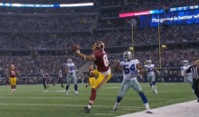 Here's the Brilliant Jordan Reed Catch that Set Up Washington's Game-Winning Field Goal (GIF)