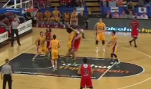 Josh Childress Delivers Vicious Flying Elbow to Opponent's Chest During Australian Basketball Game (Video)