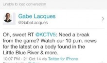 Epic Kansas City News Channel Twitter Fail During Game 1 of the World Series (Pics)