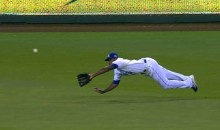 Royals Center Fielder Lorenzo Cain Stamps Out Angels Rally with Back-to-Back Diving Catches (Video)