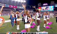 Patriots Cheerleaders Wore Devon Still Jerseys in Show of Support for Bengals Tackle's Daughter (Pic + Video)