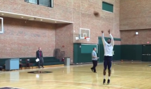 Paul George Taking Jump Shots Already? Maybe He Will Make It Back This Year (Video)