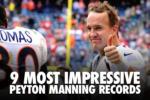 peyton manning records