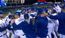 Here Are All Your Highlights from the Thrilling Royals Wild Card Win Over the A's (Videos)