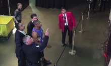 "Russell Westbrook Tells Clippers Fan to ""Watch Your Mouth N***a"" (Video)"