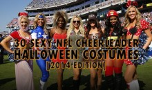 30 Sexy NFL Cheerleader Halloween Costumes [2014 Edition]