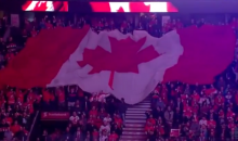 Toronto, Montreal, and Ottawa Fans Sing O Canada in Unison (Video)