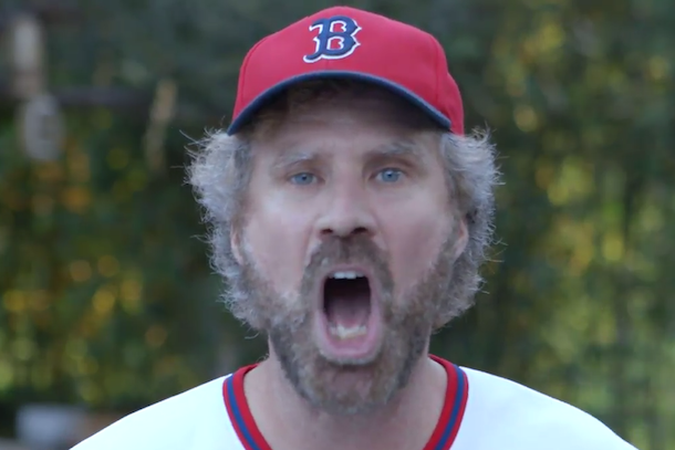 will ferrell screaming at derek jeter for four straight minutes
