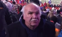 Angry LSU Fan Lashes Out at Arkansas Fans, Almost Loses Dentures (Video)