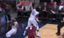 Duke's Justise Winslow Jumps OVER a Stanford Player to Make a Block (Video)