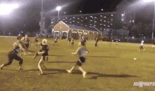 FSU Sorority Girl Scores Flag Football Touchdown That Will Leave You in Awe (Video + GIF)