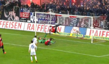 Goalie Makes Three Crazy Saves Off of Swiss League Penalty Kick (Video + GIF)