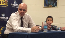 Grandson of Phil Martelli Makes Adorable Return at Press Conference (Video)