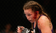 MMA Fight Called After Jessica Eye Makes Leslie Smith's Ear Explode (Video)