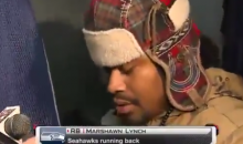 Marshawn Lynch Interview Consists of One-Word Answers Following $100k Fine (Video)