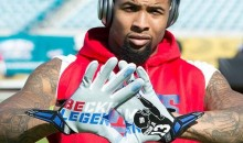 Odell Beckham Gloves Commemorate Great One-Handed Catch (Pic)