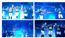 Rams Show Support for the Ferguson Protesters by Holding Up Hands (Tweet)