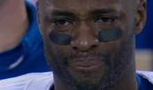 Reggie Wayne Got Very Emotional During the National Anthem Last Night (Video and Tweet))