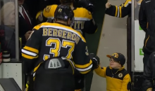 Is This Little Fist Bumping Bruins Fan The Cutest Kid Ever? Yes (Video)