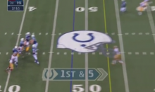 Colts' TE Coby Fleener Makes Catch Of The Decade (Video)