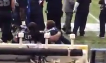 Marshawn Lynch Violently Forces Seahawks Kicker to Dance with Him (Video)