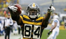 Steelers WR Antonio Brown Cuts $100k Check to Children's Hospital