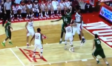 NC State's BeeJay Anaya Blocks Four Shots in 22 Seconds (Video)