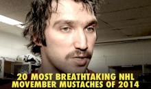 20 Most Breathtaking NHL Movember Mustaches of 2014