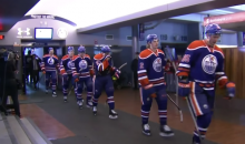Oilers Walk of Shame: Team Forced to Walk Past Booing Fans After 7-1 Loss (Video)