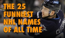 The 25 Funniest NHL Names of All time
