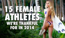 15 Female Athletes We're Thankful For In 2014