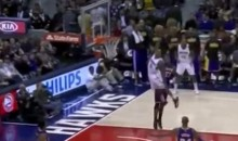 This Jeff Teague Dunk Defies the Laws of Gravity (Video)